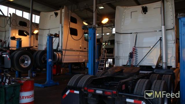 Ремонт грузовой техники, продажа запчастей.