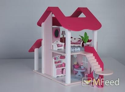 Кукольные домики из дерева woodland lalu
