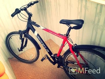 Почти новый велосипед