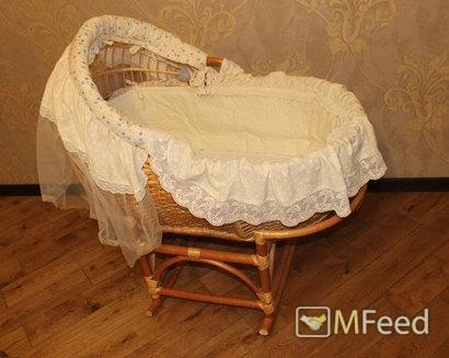 Красивая колыбель для малыша