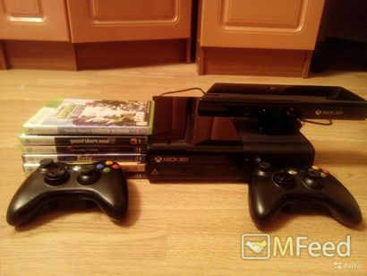Xbox 360 black slim 250GB с freeboot