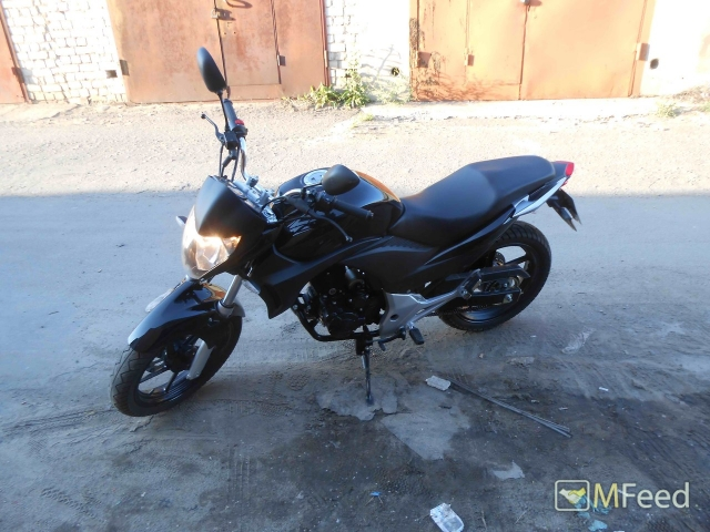 Мотоцикл марки Stels