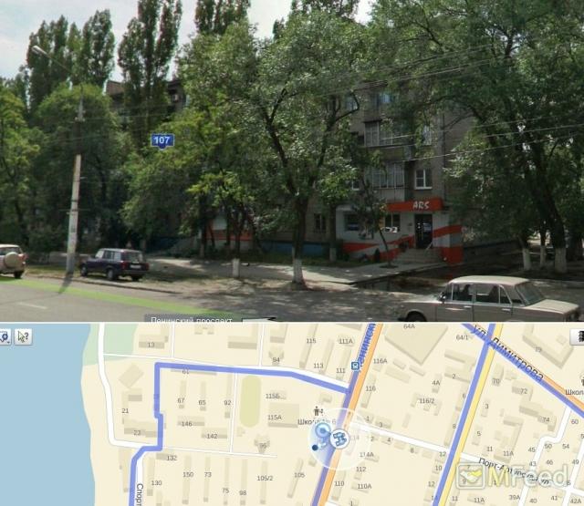Двухкомнатная квартира на остановке Димитрова