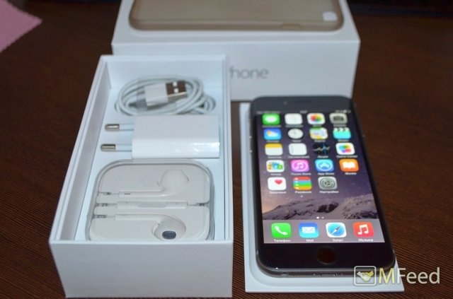 iPhone 6 на 16Gb Space gray