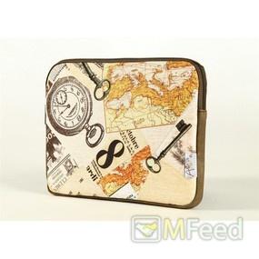 Чехол для ноутбука 13 дюймов с картой