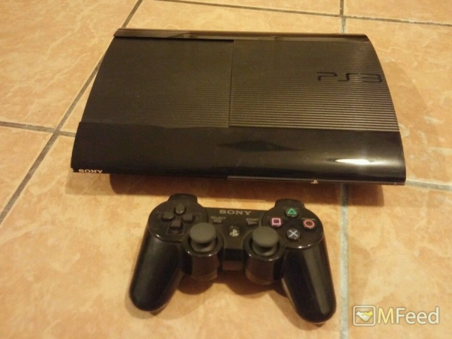 PlayStation 3 Super Slim 500GB и 10 игр