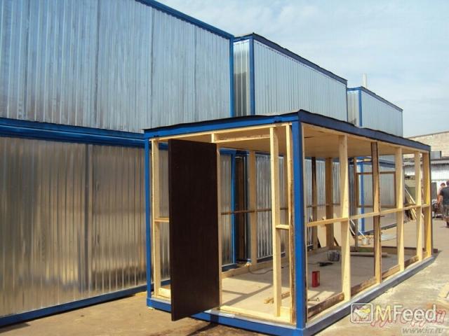Бытовки и блок контейнеры от производителя.