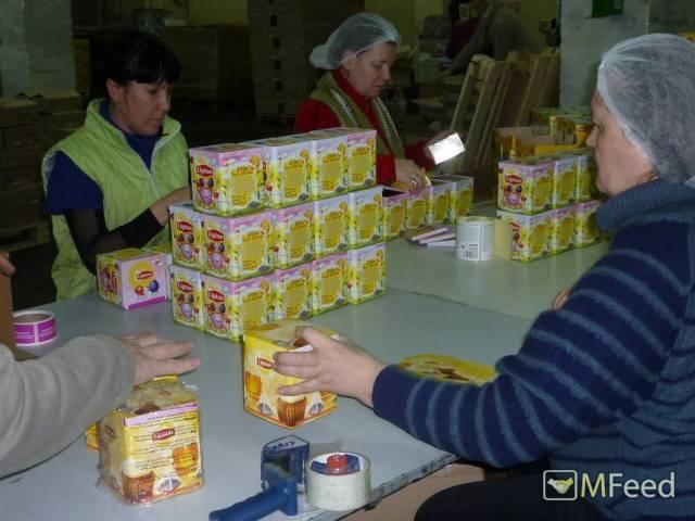 Упаковщики на небольшое уютное производство чая