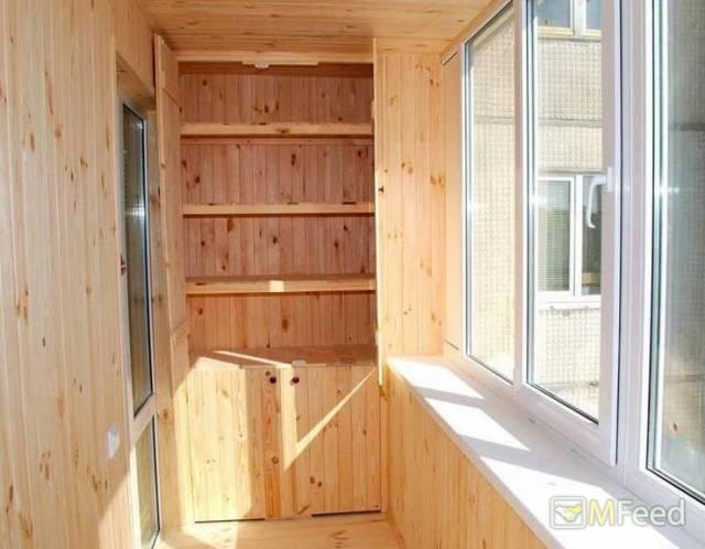 Остекление, отделка лоджий, балконов