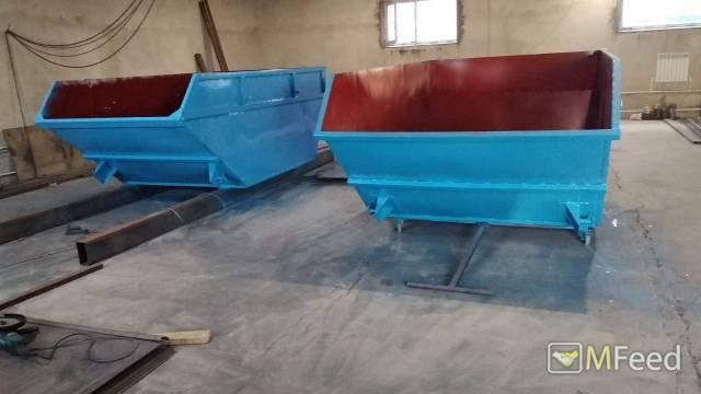 Изготовление бункеров лодочка 8 м3 Воронеж