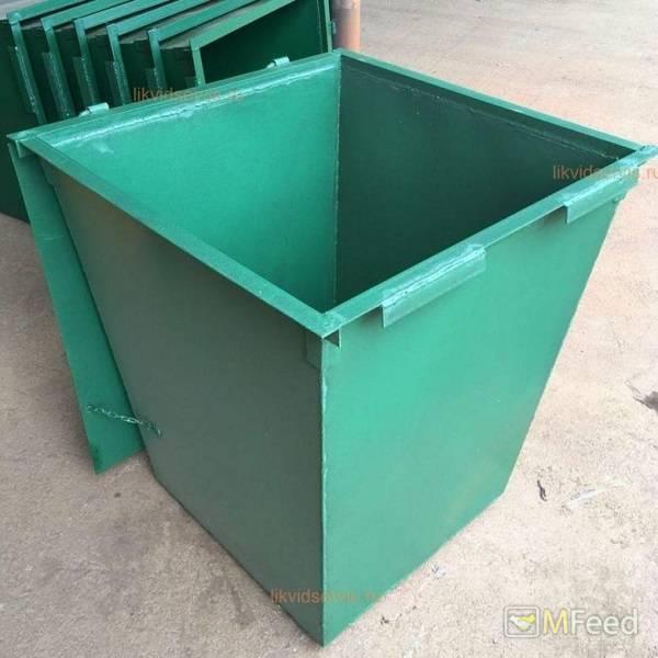Изготовление мусорных контейнеров 0,75 м3 Воронеж