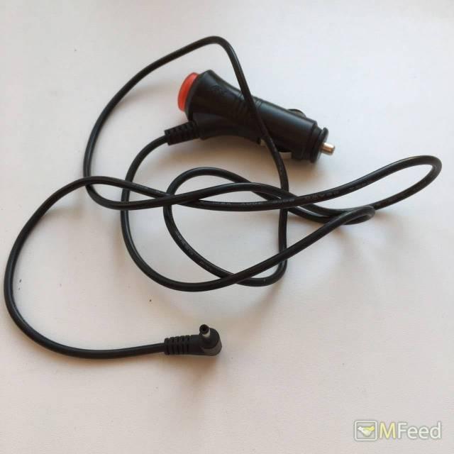 Автомобильный кабель питания с круглым разъемом
