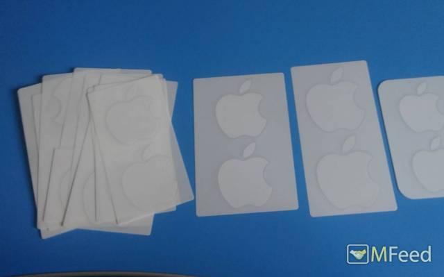 Наклейки яблок от Apple iPhone / iPad
