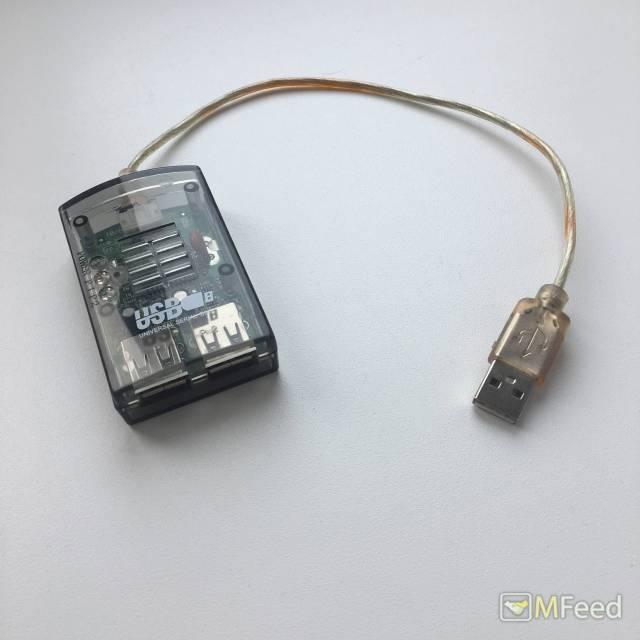 USB разветвитель на 2 USB порта
