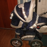 Отличная коляска-трансформер (зима-лето)