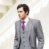 Новый мужской костюм-тройка