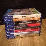 Sony Playstation 4 с кучей дисков возможен обмен