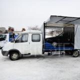 Переоборудовать авто Hyundai HD 78 авто эвакуатор