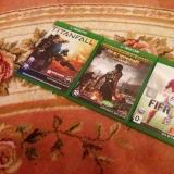 Microsoft Xbox One с тремя дисками и аккумулятором