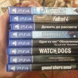 Диски с играми для PS4 продажа / обмен